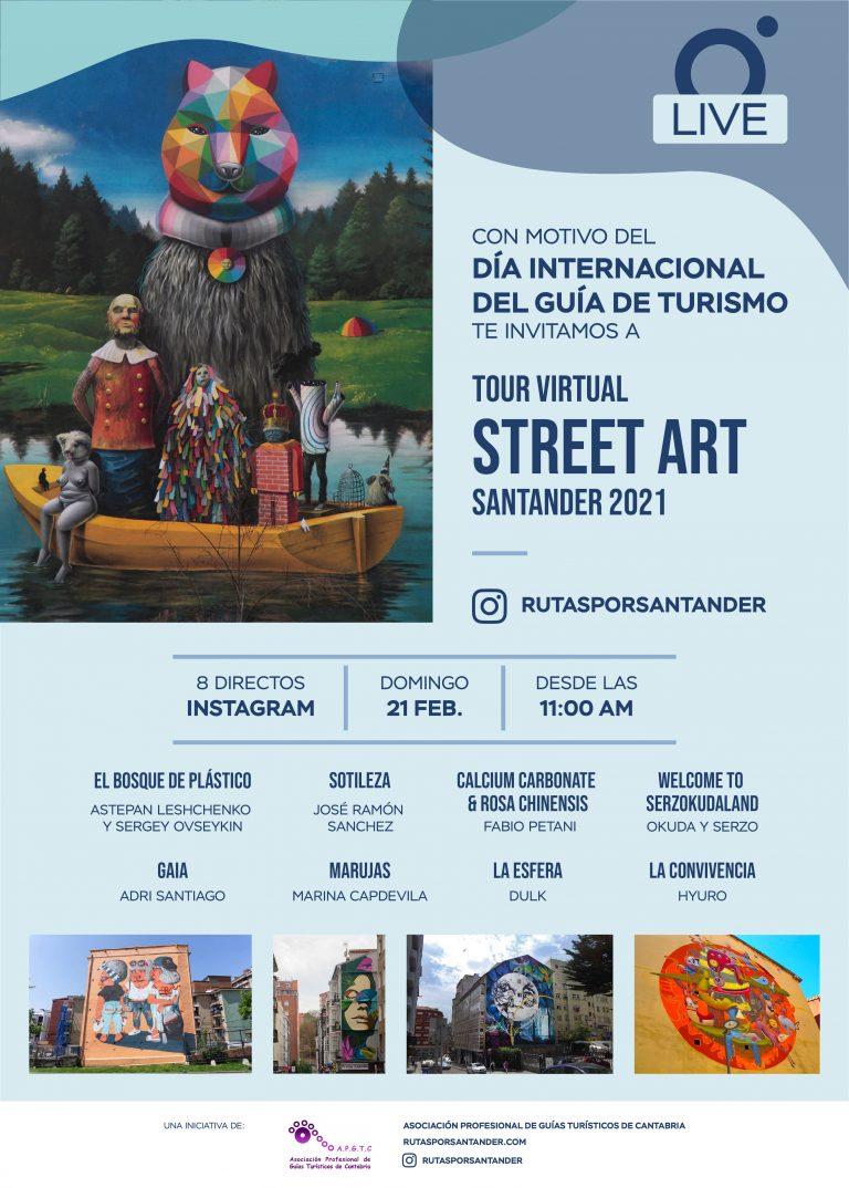 Tour Virtual Murales de Santander