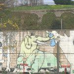 Bosque de Plástico Mural Santander